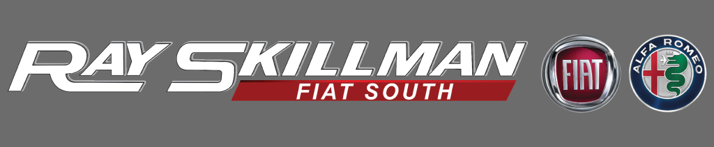 RAY SKILLMAN FIAT SOUTH LOGO GRAY BACKGROUND