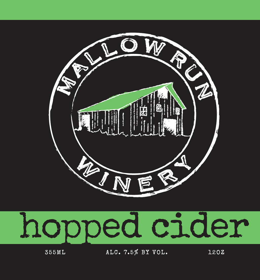 MALLOW RUN HOPPED CIDER LABEL CROPPED