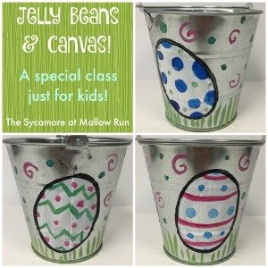 jelly beans and canvas easter pail collage promo image